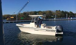 Mint 2013 Grady White 209 Fisherman CC w/ Yamaha 200 Digital 4-Stroke w/ only 17 Hours! T-Top, Electronics, Trailer Not Included Deposit Taken - Pending Delivery. Reduced AGAIN 12/23/15 - DON'T MISS THIS! Mint 2013 Grady White 209 Fisherman CC w/ Yamaha