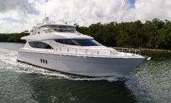 600K Price Adjustment!! A TRUE Turn Key Yacht, Just Reduced!! Family wants it sold! Bring All offers for consideration.   A Remarkable opportunity to purchase a like NEW 2013 Hatteras 80' MY that was Custom Built by a knowledgeable owner that spared