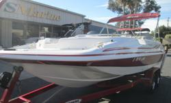 If you are looking for a boat that can do it all, this is the Swiss Army Knife of boats. Whether you are looking for a Sunday cruise, some skiing or wakeboarding, or to take advantage of the bite on a full moon. This is the boat for you. Only 57 hours and