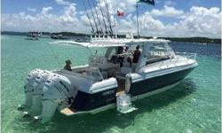 The newest and best priced 39' Intrepid Sport Yacht currently available. Very clean and ready for her new home. Some key features include: Triple 300hp Mercury Verado under warranty. 5KW Generator with 61 hours. Electronics: Garmin GHP 20 Auto Pilot,