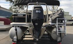 2013 LOWE PONTOON SF 232 SPORT FISH FOR SALE AT VS MARINE IN ATASCADERO, CA. Call today for details 805-466-9058 or email shawn@vsmarine.com or kris@vsmarine.comFor watersports-loving pontooners who don't want to sacrifice fishability, the SF232 is a