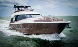 WITH UNPARALLELED BEAUTY AND A NATURAL ALLURE, THE MCY 70 IS UNLIKE ANY OTHER MOTORYACHT! Truly remarkable in every sense of the word, no detail has been missed. Incorporating a patented build process and only the finest materials available on the market,