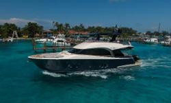 The 65 epitomizes elegance and functionality, with an instantly recognizable classic boasting features generally reserved for mega yachts, like the Portuguese bridge to the bow, the carbon fiber hardtop, and the beautiful supports in glass and steel. The