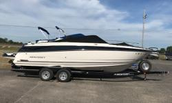 Big block - captain's choice. Closed cooling system and Bluetooth. This boat is in brand new condition. Trades considered. Engine(s): Fuel Type: Gas Engine Type: Stern Drive - I/O Quantity: 1