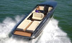 Nor-Tech 420 MC is designed as the ultimate day boat. The cockpit features an abundance of seating areas creating a comfortable social setting. Forward of the helm station are twin aft facing lounge areas that receive full protection from the wind