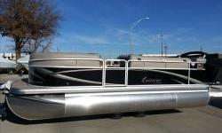 2013 Premier 200 Leisure Sunspree 20ft. pontoon boat with Yamaha four stroke 40hp efi. Package includes upgraded 25 inch pontoons, basic stereo with MP3 plug, snapless cover , suntop, dockingg lights, and 21gal. fuel tank. Motor horsepower may be upgraded