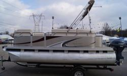 2013 Qwest 7516 Edge BOAT-MOTOR-TRAILER PACKAGE -YAHCT CLUB TRAILER -BIMINI TOP -FULL COVER -REAR BOARDING LADDER -BOW TABLE -USB/AUX INPUT -JBL SPEAKERS. Stock number: UESD-1315