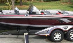 2013 Ranger 620VS Fisherman, dual console with sony am/fm cd, mp3 player stereo, mercury 250hp pro 4 stroke verado, stainless steel prop, mercury 9.9hp 4 stroke kicker, minn kota terrova 101# with i-pilot, lowrance hds7 console, lowrance hds5 bow, mercury