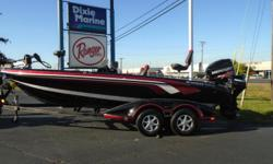 2013 Ranger 620FS, ECLIPSE/RED, POWERED BY MERCURY 250 PRO XS AND 2007 MERCURY 9.9 KICKER MOTOR, HUMMINBIRD 1198si (CONSOLE/RAM MNT), HUMMINBIRD 1158 (BOW/RAM MNT), MINNKOTA FORTREX 101/36V, NEW COVER, 4 BANK CHARGER, REAR DECK EXTENSION, 3 FOLD DOWN