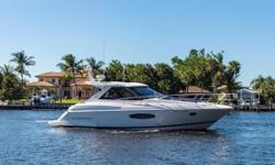 Inishowen is a one owner extremely well taken care of Regal 42 Sport Coupe. This boat has lived its life inFreshwateruntil it was delivered to Palm Beach, FL from Texas. She has upgraded electronics, Volvo IPS 400 Joystick drives, and many