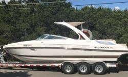 2013 Rinker 276 Captiva BR 2013 Rinker 276 Captiva BR model in great condition! Currently with only 157 hours on it. This boat had originally been purchased brand new in July of 2016. In search of a bigger Fishing boat. Comes equipped with every Upgrade