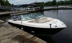 This is a one-owner 2013 Robalo R227 with a 2013 Yamaha 200hp four stroke with only 89 hrs! She's been stored in a covered dry-stack her entire life, no bottom paint. The engine just had a full annual service and boat underwent multi-point inspection.