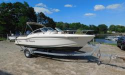 2013 Scout 210 Dorado Dual Console The 210 Dorado dual console is perfect for any activity on the water. Her layout is suited for family cruising and fishing alike. This dual console is ready to go with a Garmin GPS, VHF and packed with comfortable