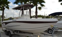 2013 2100 Sea Chaser Center Console, 175 Suzuki, T-Top, Step Down Console w/ Pota Potty, Dual live Wells, Sink, Insulated drink storage, Raw Water wash down, Fresh Water shower, Trim Tabs w/Indicator's, 4 Speaker Stereo System, Lowrance HDS 7 GPS-Fish