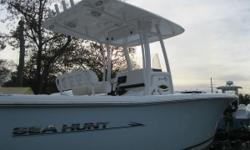 NEW INVENTORY 2013 Sea Hunt Gamefish 25 This Sea Hunt 25 Gamefish is in good shape w/ only 387 hours on the Yamaha 300 hp 4 stroke motor w/ warranty on it til 03/27/209! This boat comes w: Yamaha 300UCA 4 stroke w/ 387 hours & warranty til 03/27/19 Garmin
