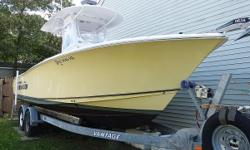 > Call!!! Super Complete Rig, with all Extras;Extended(6 yr)Warranty Extra Garmin Electronics, Auto Pilot, Trailer etc.  The Gamefish Series delivers exactly what serious fishermen demand in a sportfishing center console