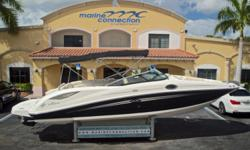 2013 Sea Ray 300 Sun Deck, Marine Connection: South Florida's #1 Boat Dealer! Cobia, Hurricane, Sailfish Pathfinder, Sportsman, Bulls Bay, Rinker & Sweetwater new boats plus the largest selection of pre-owned boats. View full details and 81 photos of this