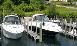 ONE OF THE NICEST CRUISERS SEA RAY HAS BUILT, THE 370 SUNDANCER HAS PLENTY OF ROOM MATCHED WITH GREAT PERFORMANCE. THIS BOAT IS POWERED BY TWIN MERCRUISER 8.2L HORIZON DTS V-DRIVE INBOARDS, PUTTING OUT 380HP EACH ,WITH ONLY 154HRS OF USE. IT ALSO COMES
