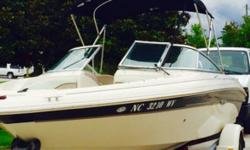 2003 Sea Ray 185 BR Excellent condition both within and out 19 feet in overall length Comes with a Walk-Thru Windshield as well! Plenty of seating within Includes Captain Chairs and a Bench seat Stainless Steel Prop Comes with Life Jackets and a Throw