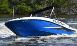 2013 Sea Ray Sport 190 BR 2013 Sea Ray Sport 190 BR model in great condition. Relatively brand new top-rated versatile recreational boat that provides endless Family fun. Professionally maintained and rack stored Barely with 190 hours on the optional
