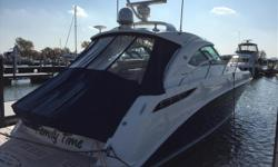 'Family Time' is the only 2013 Sea Ray 410 Sundancer available with the optional 480 hp High Output Cummins ZEUS Engines. She has been in Fresh Water since new and sets the standard in luxury sport yachts. This owner spared no expense when ordering this