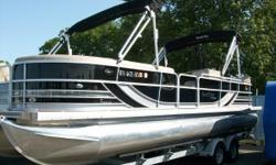 2013 South Bay 925E 25' Entertainment pontoon. Huge bar set-up in the rear. Double bimini tops. Triple pontoon with a 200 hp Yamaha. Nominal Length: 27.3' Length Overall: 27.3' Length Of Deck: 25.5' Engine(s): Fuel Type: Other Engine Type: Outboard Beam: