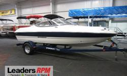 2013 Stingray 198 LX SUPER CLEAN 2013 STINGRAY 198 LX WITH ONLY 105 ENGINE HOURS!  A 190hp Mercruiser 4.3L TKS (Turn Key Start) 6-cylinder inboard/outboard engine powers this clean fiberglass bowrider.  Features include:  bow and cockpit