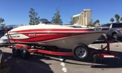 2013 Tahoe 195 I/O with Mercruiser 4.3 MPI and dual axle trailer with brake! Includes bimini top, radio, and spare tire! Nominal Length: 20' Engine(s): Fuel Type: Other Engine Type: Stern Drive - I/O Stock number: 860442