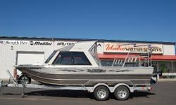 6.0L Kodiak Engine w/ Hamilton Pump 56 HRS!!, Heater, Hard Top, High Deck.  The Alexis Classic is based on the ever popular Alexis but loaded with all the right options, including a larger fuel tank, ½ hard top, fish deck, and Hamilton pump,