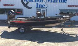 2013 Tracker V16 Super Guide SC2013 Mercury 40 ELPT FourStroke (49.5 hours)2013 Trailstar single axle trailer Minnkota 42#/12V w/IPilotDash- Humminbird Helix-9 SI/GPS G2N 2-fishing seats3-rod holdersrope ratchet coverfront livewell, front storage, port