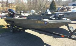NICE USED 2013 WELBILT 1548 2013 WELD BILT 1548 WELDED JON BOAT WITH TRAILER AND 2006 EVINRUDE 40HP ENGINE.INCLUDES 12 VOLT TROLLING MOTOR, DEPTHFINDER, 6 GALLON TANK, BATTERY, ALUMINUM PROP. For Work Or Play... A Boat For All Needs! WeldBilt Jon Boats
