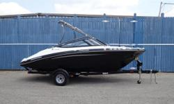 FACTORY YES WARRANTY TILL MAY 2018     First-class features include Yamaha's award-winning swim platform, an upgraded, premium Clarion stereo, a folding aluminum tower, Trailer w/brake 67 HOURS  FUN STUFF: