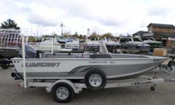 2014 Alumacraft Competitor 165 CS - Seats - 2 - Side Console - Yamaha 70HP ** This package includes boat, motor, and trailer. ** Nominal Length: 16' Engine(s): Fuel Type: Other Engine Type: Outboard Beam: 7 ft. 3 in. Fuel tank capacity: 17