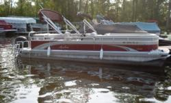 We have used this boat in our rental fleet for the past 2 years. It is powered by a Mercury 90hp four stroke motor. We have taken the most popular elements of the full line of boats and combined them into one fabulous value! In addition to the care and