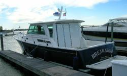 This original owner cruiser has been enjoyed and cared for. Owner is ready for a larger boat. Nominal Length: 41' Length Overall: 41' Drive Up: 3.7' Engine(s): Fuel Type: Other Engine Type: Inboard Draft: 3 ft. 8 in. Beam: 13 ft. 10 in. Fuel tank