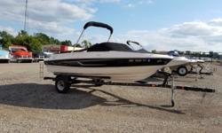 2014 Bayliner 185BR with 135hp Mercruiser 3.0L and trailer. Includes bow cover, cockpit cover, bimini top, stereo remote and extended swim platform. For additional information call us today at 800-875-2620 and select the location nearest you or view