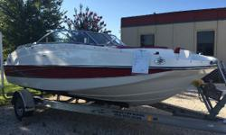 Harbor View Marine in Pensacola, FL brings you the LIKE NEW slightly used, 2014 19' deck boat! Less than 40 hours on the Mercury 4 stroke 115 motor and an aluminum trailer too! The 190 deck boat has customizable under-seat storage