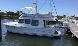 $10,000 Reduction  2014 Beneteau 34 Swift Trawler Excellent Fuel Economy! Only 230 Hours on 425 HP Cummins New Bottom Job and Teak Re-Finished - October 2018 2 Staterooms, 1 Head Teak cockpit and swim platform Raymarine electronics with radar