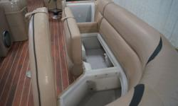 2014 Berkshire Pontoons Premium Series 250E 250E PACKAGED WITH A 150HP HONDA! Options include: ? Full mooring cover ? Clarion premium sound system w/sub ? Fridge ? Grill ? Sink ? Wash down ? Changing station ? LED lighted speakers ? mood lighting ?