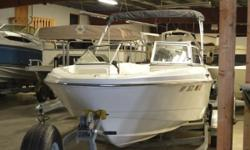 A beautiful 2014 Caravelle 17EBO bow rider ready for you and your family boating wants & needs. This boat includes a Bimini Top, Radio, All Covers, Full Gauges and more. Come in today and see all the savings you can have today! Nominal Length: 17' Length