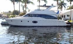The Carver 54 Voyager was designed for luxurious and comfortable long range cruising, and has a 3 stateroom layout. The extended flybridge, spacious master, roomy salon areas, and 611 cabin headroom deliver the feeling of a much larger vessel.