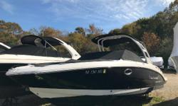 2014 Chaparral 264 Sunesta with Arch Tower  Powered by a Volvo Penta 380 V-8 Engine Extended Engine Warranty Until July 2020   Wood Flooring - Teak And Holly Trim Tabs With Indicator Lights Custom Arch Tower - White Aluminum With