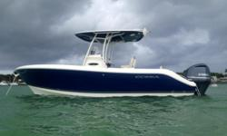 2014 Cobia 237 Center Console, Marine Connection: South Florida's #1 Boat Dealer! Cobia, Hurricane, Sailfish Pathfinder, Sportsman, Bulls Bay, Rinker & Sweetwater new boats plus the largest selection of pre-owned boats. View full details and 33 photos of