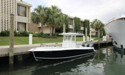 ***28' Contender Sport 2014*** The cleanest and best optioned 28' Contender available. Twin 300 Yamahas, Lockable electronics box, Simrad Electronics, Live-well Pump Box, Forward Seating and removable stern seating. Captain and crew maintained. Yamaha