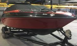 2014 Crownline 21SS Red & Black w/ 220HP 4.3L MPI Mercruiser Inboard/Outboard DriveExcellent quality used only as a demo with under 15 hours on it!Great upgrade boat from the 18-19 range or just looking for a sleek model from a great year of