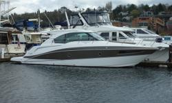 2014 Cruisers 41 Cantius: OUR TRADE!! This is a very rare opportunity to get an almost new boat at a substantial discount. Late model boats are so hard to find these days and this one is beautiful and ready to go. Equipped with Volvo IPS 500 diesels, she