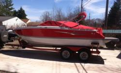 Like New!! Low Hours!! Why buy new when you can have this boat at a bargain. Fresh water use only, meticulously maintained by a mature and responsible owner that never abused it. All warranties transferable. This is a rare opportunity to get a newer boat