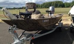 Yamaha 90 J #UY8402 & Bear BJ66-18G trailer #UBT3040