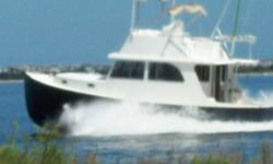 2004 Northern Bay 38 Custom Flybridge Cruiser 2004 Northern Bay Custom Flybridge Cruiser Comfortable Fishing Dream - 2004 Hull Completed in 2007 Custom 38 Northern Bay Downeaster with Bimini Topped Flybridge Completely Equipped to Fish and Cruise This is
