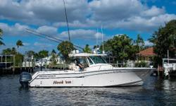 The Grady White 376 Canyon was introduced in 2014. This vessel has been maintained by her very knowledgable original owner since new. All services are up to date and maintenance records available upon request. The 376 Canyon features plenty of space for